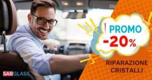 promozione riparazione cristalli auto